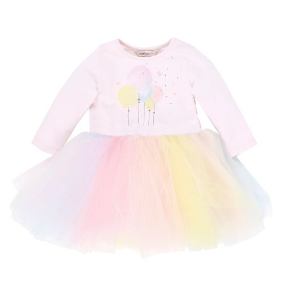 Twinkle Balloons Tulle Dress