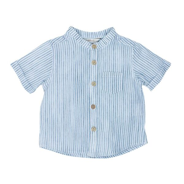 Jungle Stripe Shirt Navy Stripe