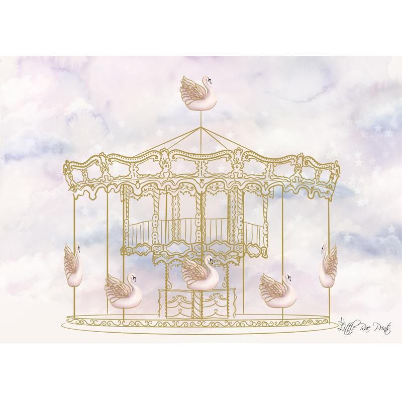 Carousel Magic Print