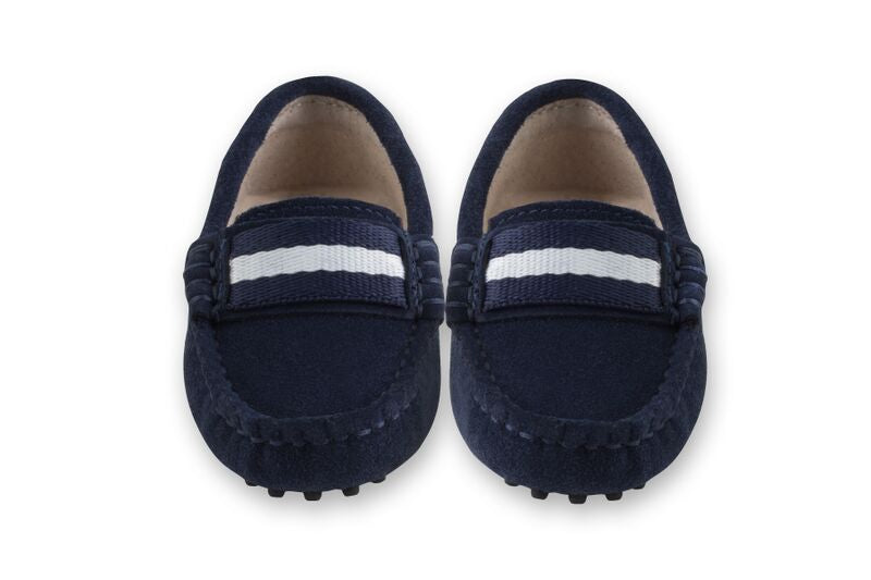 Oscar's for Kids Milan Navy Loafers