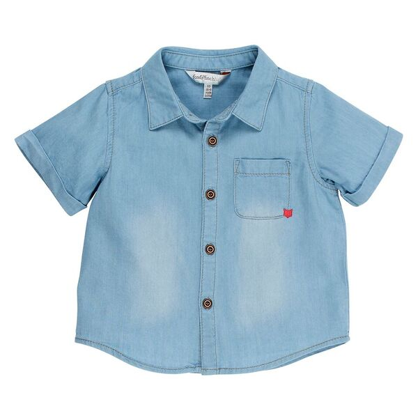 Little Mr Denim Shirt