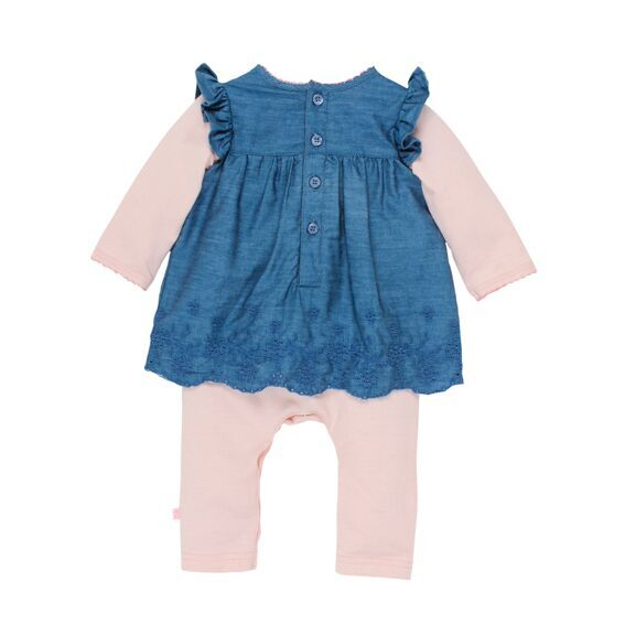 Tessa Romper with Chambray Top
