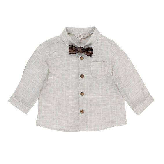 Woodland Shirt With Front Bow