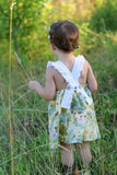 Ring Around the Rosie dress and romper - PDF sewing pattern
