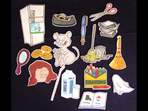 If You Give a Mouse a Cookie 17-pc Flannel Board Story