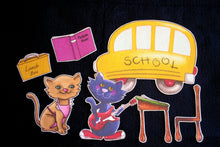 Pete the Cat: Rocking in My School Shoes 12-pc Felt Story