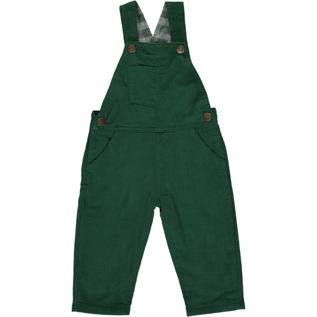 Green Cord Overalls
