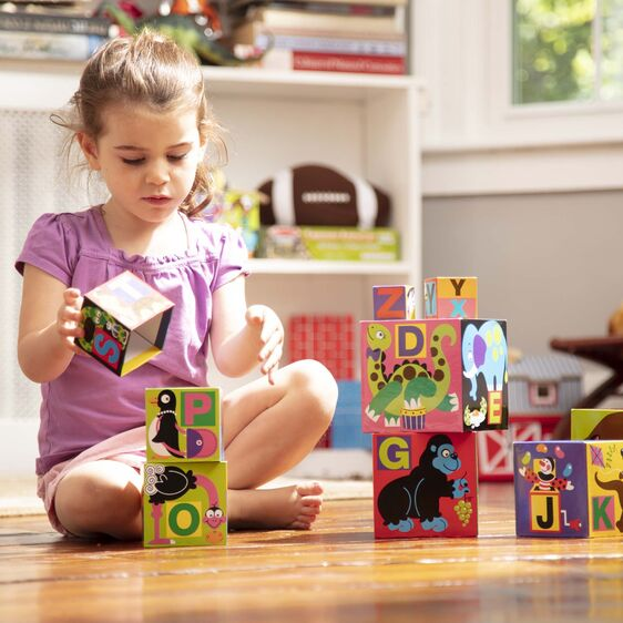 LOCAL PICK-UP/DELIVERY ONLY - Alphabet Nesting & Stacking Blocks