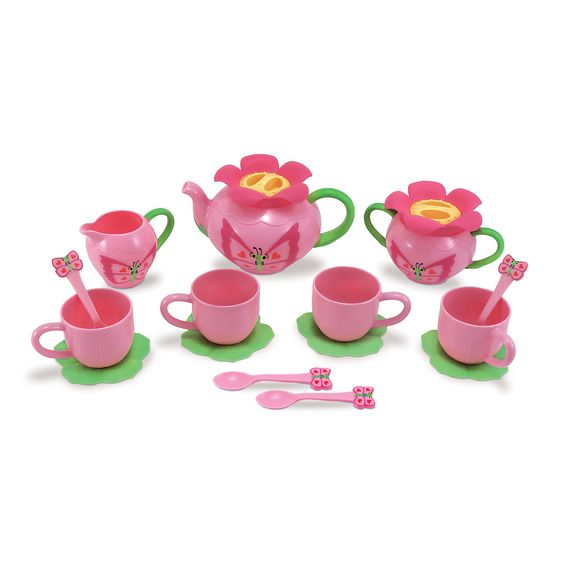 LOCAL PICK-UP/DELIVERY ONLY - Bella Butterfly Tea Set