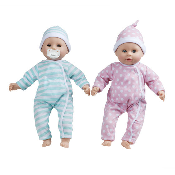 LOCAL PICK-UP ONLY Mine to Love Twins Luke & Lucy Doll Set