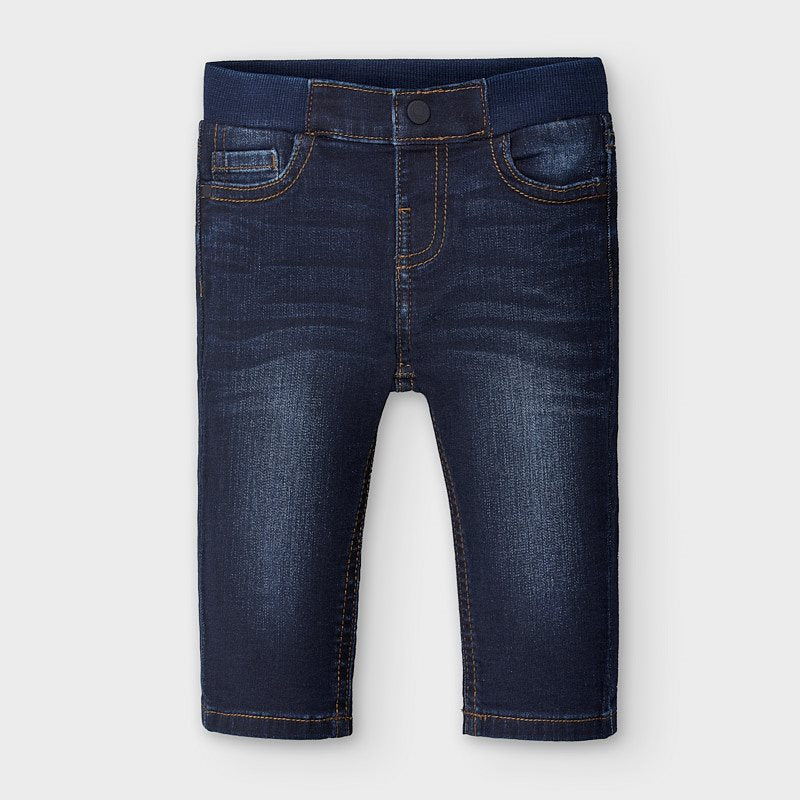 Regular Fit Dark Infant Jeans