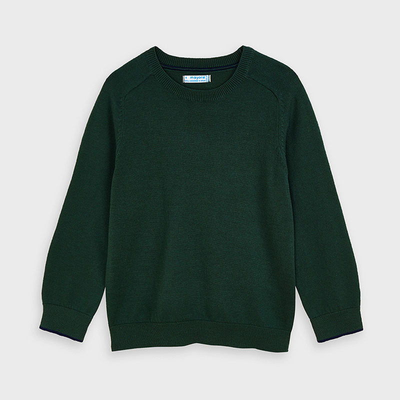 Spanish Fir Green Sweater