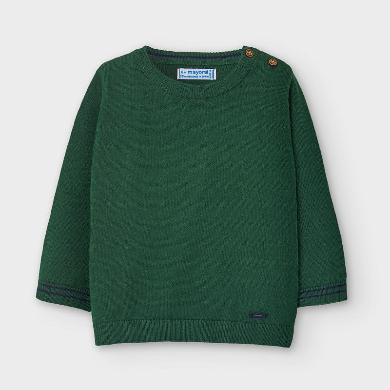 Spanish Fir Crew Neck Sweater
