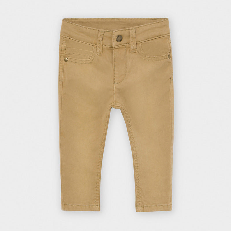 Slim Fit Walnut Pants