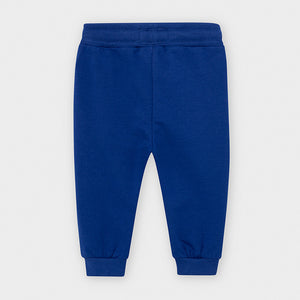 Blue Pop Cuffed Fleece Infant Trousers