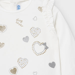 Sparkle Hearts Dog Lover Shirt & Leggings Set