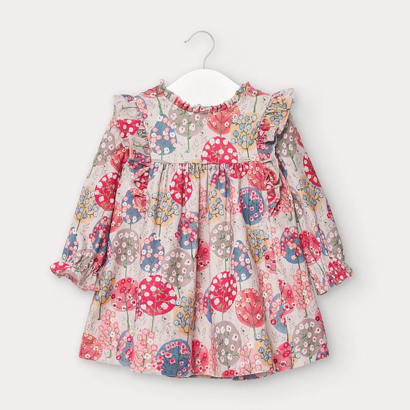 Microcord Bushels of Blossoms Dress