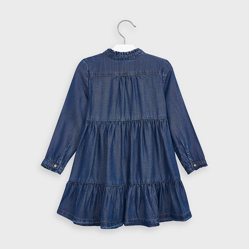 Denim Tencel Dress