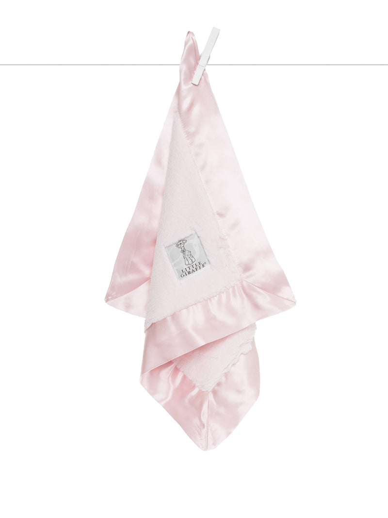Luxe blanky/lovey - Pink