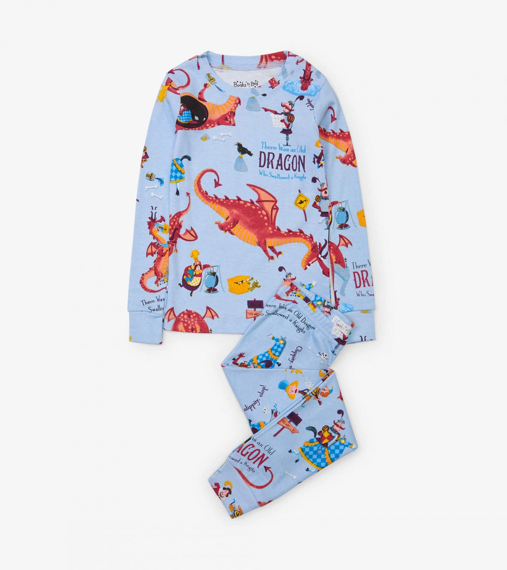 Dragon Swallowed Knight Organic PJs