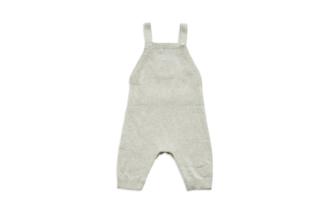 Knit Heather Overalls