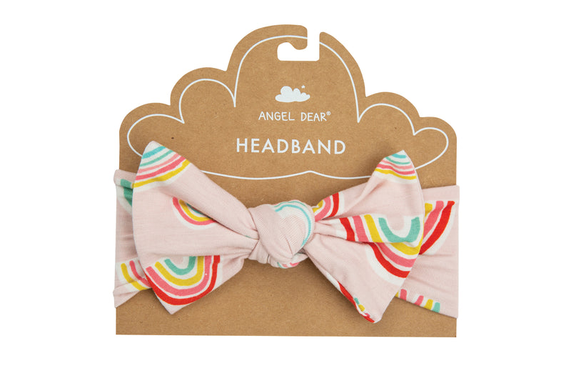 Angel Dear Pink Rainbows Headband