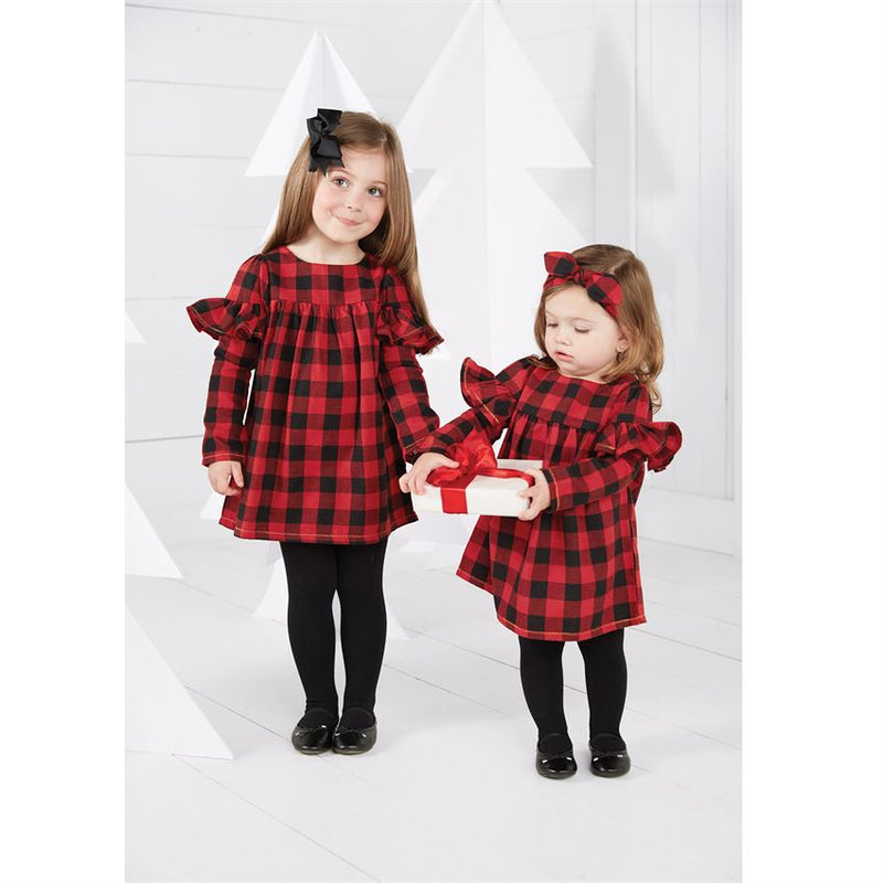 Buffalo Check Dress & Bloomer Set