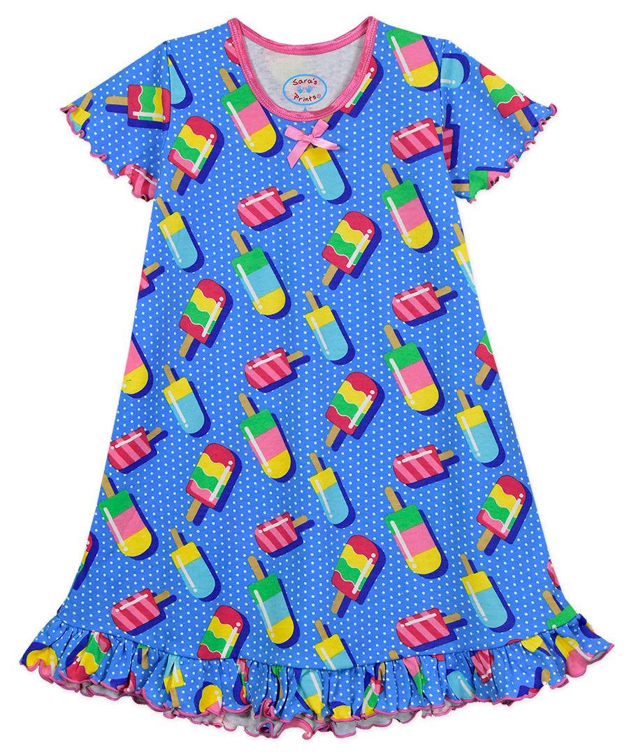 Popsicles Ruffled Nightie