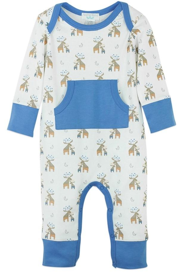 Moose Coverall w/ Kangaroo Pocket