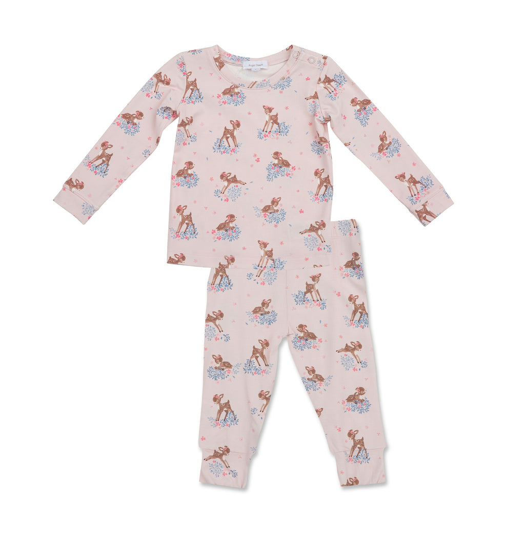 Woodland Deer Bamboo PJ Set