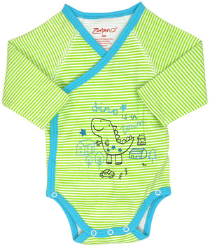 Infant Dino In Town Onesie by Zutano