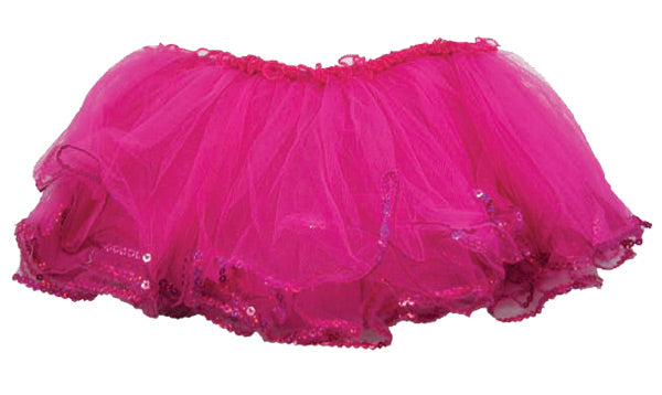 Toddler/Youth Girls Tutu w/ Sequin Edge