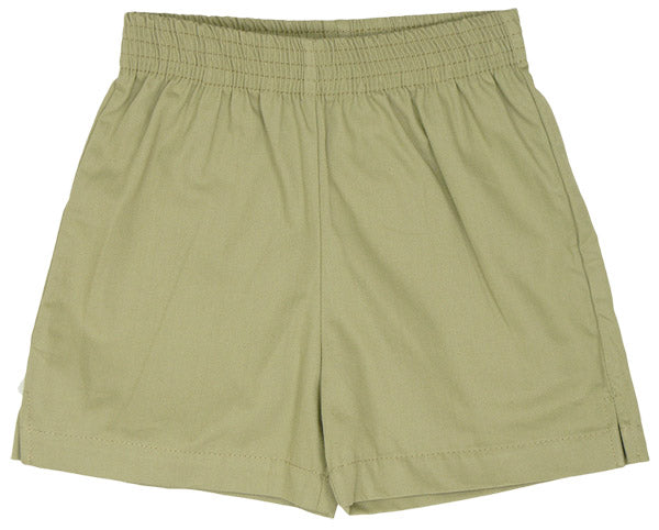 Sand Twill Shorts by Luigi Kids