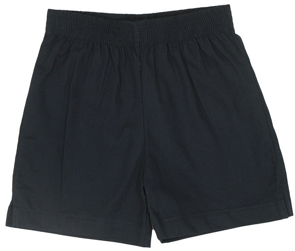 Navy Twill Shorts by Luigi Kids