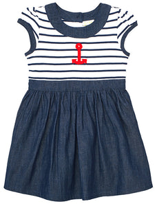 Anchor Dress by Le Top