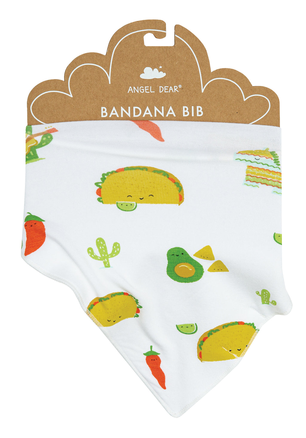Taco Party Bandana Bib