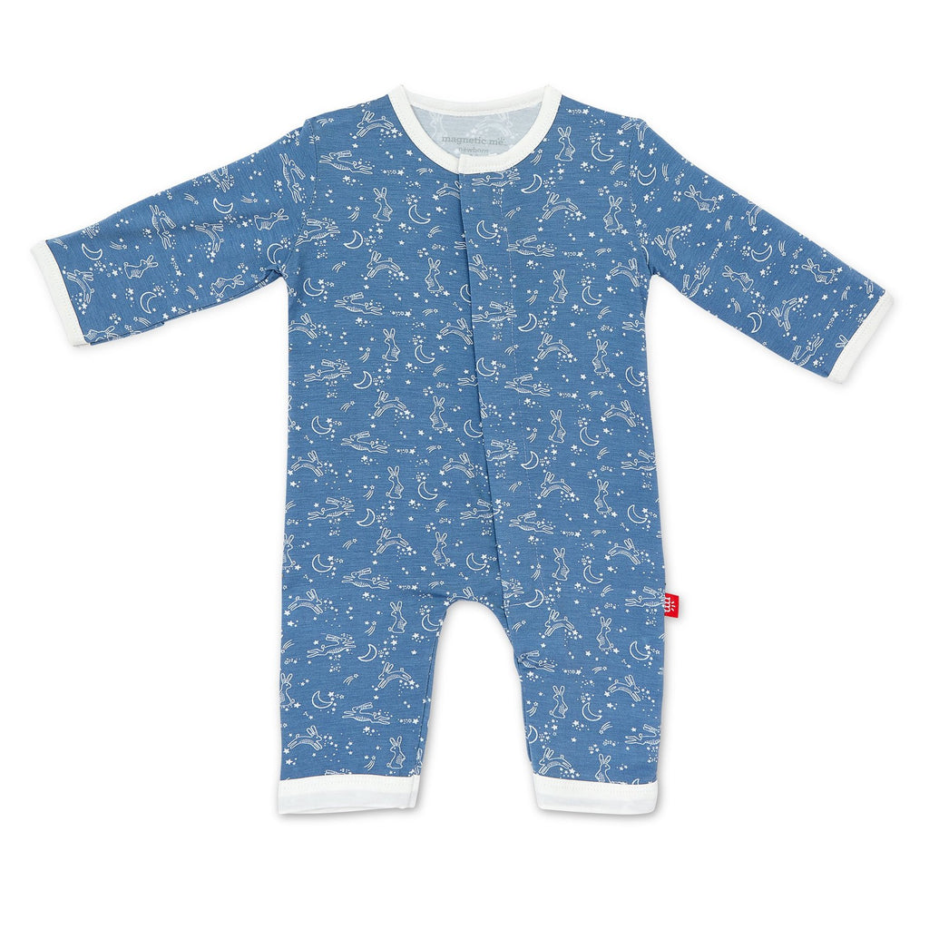 Blue Sky Bunny Modal Magnetic Coverall