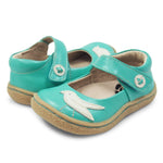 Pio Pio Mary Jane in Aqua Shimmer by Livie & Luca