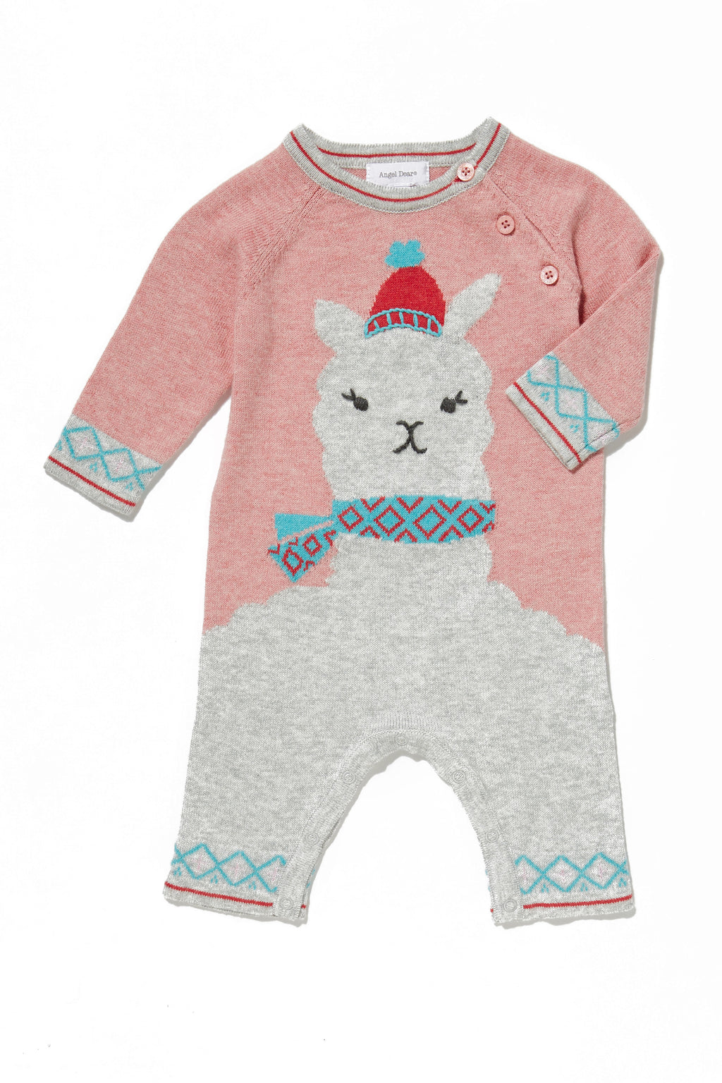 Llama Cotton Lightweight Sweater Knit Coverall