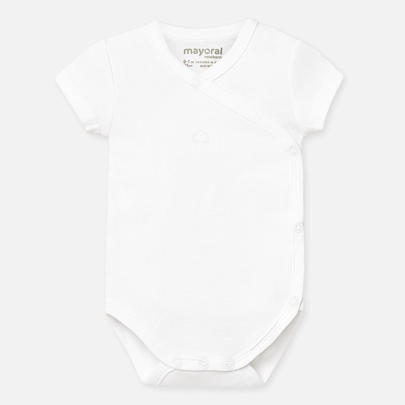 White Cotton Cloud Onesie
