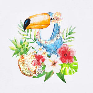 Toucan Tropical Sleeveless Tee