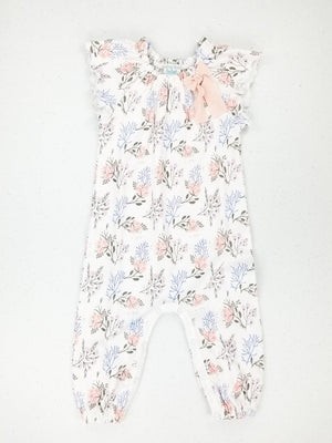 Bow Romper ~ Annabelle on White