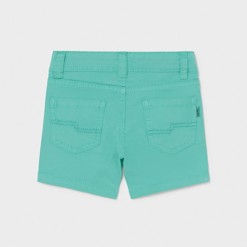 Aqua 5 Pocket Twill Shorts