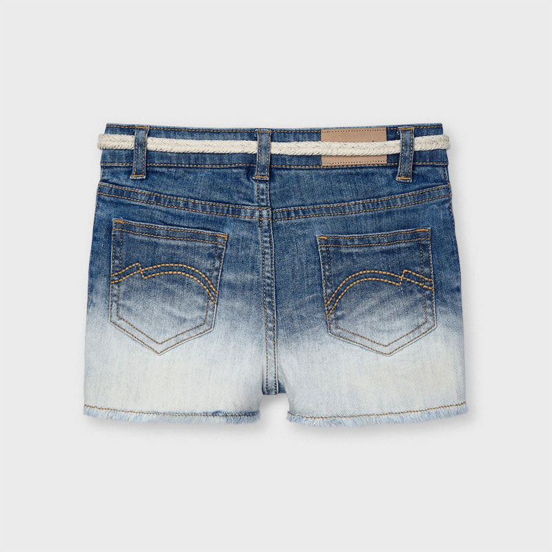 Fade Away Denim Sparkle Shorts