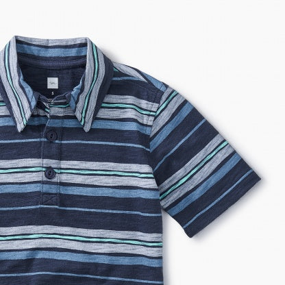 Painted Stripe Polo