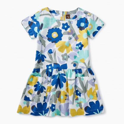 Marina Floral Woven Pocket Dress