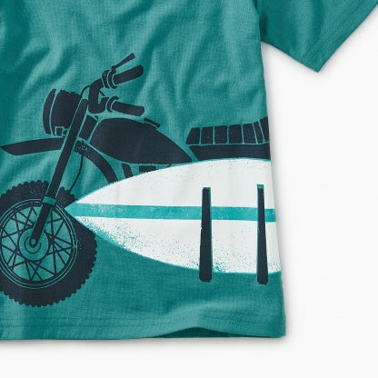 Moto Board Graphic Tee