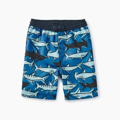 School of Sharks Swim Trunks