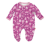 Pink Yeti Set Go Modal Magnetic Footie