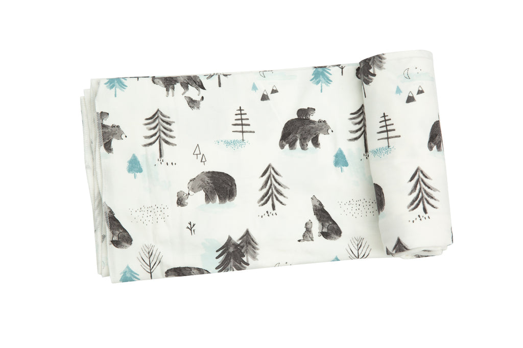 Mama & Cubs Swaddle Blanket